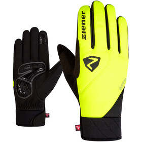 Ziener Donni GTX Infinium Primaloft Bike Gloves poison yellow